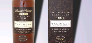 Talisker really advisable Destillers Edition whisky 1991/2005.